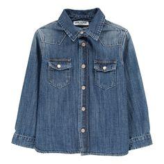Shirt with Pockets Denim Babe & Tess Fashion Children