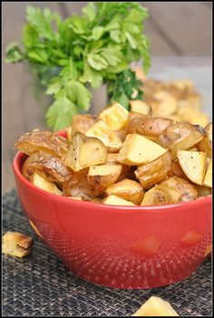 SALT AND VINEGAR ROASTED POTATOES + WEEKLY MENU - www.diypinterest ...