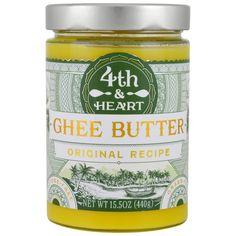 4th & Heart, Ghee Butter, Original Recipe, 15.5 oz (440 g)