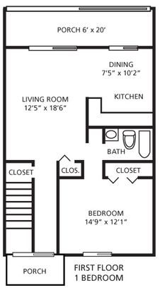 700 Square Feet Apartment 700 sq ft floor plans | house floor plans | pinterest | bedroom