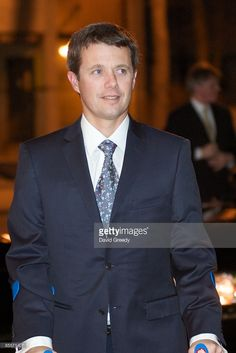 Danish Crown Prince Frederik and Princess Mary arrive at the Des Moines Club on March 23, 2009 during a visit to Des Moines, Iowa.