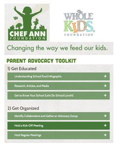 If you're ready to support your district in making change in school lunch - we have your tools!