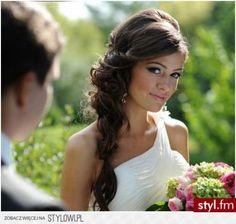fryzury ślubne na bok - Szukaj w Google