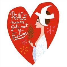 Peace never gets out of Fashion by Jordi Labanda