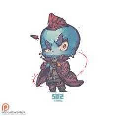502 - Yondu, Jr Pencil on ArtStation at https://www.artstation.com/artwork/L9vJv