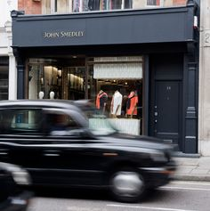 John Smedley Flagship at 24 Brook Street