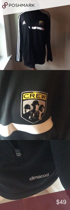 Men's crew adidas track jacket Climacool adidas track jacket adidas Jackets & Coats Performance Jackets