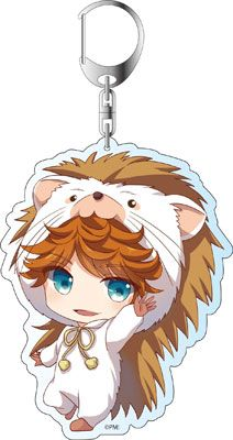 AmiAmi [Character & Hobby Shop] | Magic Kyun! Renaissance - Deka Keychain: Rintaro Tatewaki Kigurumin ver(Pre-order)
