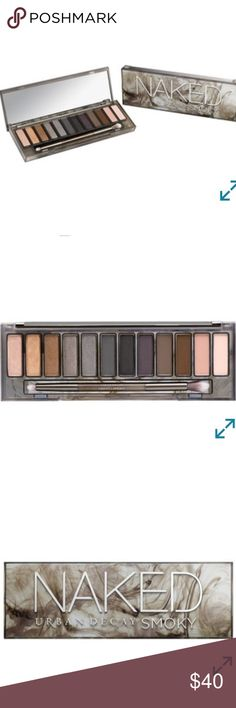 Naked Urban Decay Smoky Eyeshadows 🎉 Brand new eyeshadow set! 👌🏻 Rare, sold out from Sephora and ULTA, discontinued. Never used. Urban Decay Makeup Eyeshadow