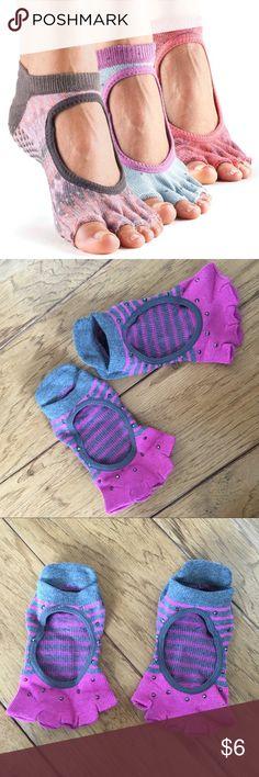 Toe Sox Cotton Sock Anti-Slip Grip Yoga Socks Toe Sox Cotton Sock Anti-Slip Grip Yoga Socks toe sox Intimates & Sleepwear
