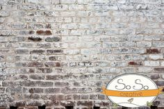 Brick Photography Backdrops - SoSo Creative: The First Stop for Photographers. $50