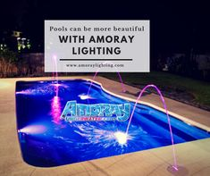 These high-quality Nicheless LED Underwater Lights are Corrosion free,Waterproof & to be used for Pools,Ponds,Lakes,Fountains Inground Pool Lights, Underwater Led Lights, Ponds, Lakes, Fountain, Make It Yourself, Decorating, Lighting, Free
