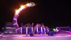 3,000-Pound Fire-Breathing Robot Scorpion Roving the Nevada Desert_ #GeorgeTupak