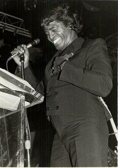 James Brown @ CMJ 1983