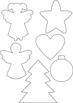 New Post christmas ornament templates interesting visit xmast. Christmas Sewing, Christmas Crafts For Kids, Christmas Projects, Kids Christmas, Holiday Crafts, Christmas Ornament Template, Christmas Templates, Christmas Printables, Christmas Patterns