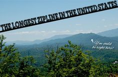 The Longest Zipline In The United States Is Now Open In America's Favorite Vacation Spot In Pigeon Forge, Tennessee. Get Ready! We Have The Best, Most Amazing Views Of The Smoky Mountains!