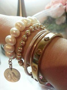 My bracelet stacks