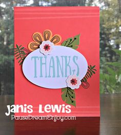 Pause Dream Enjoy: PDE Ch# 5 Thank You Cards