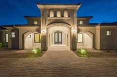 Spanish Transitional - Front Entry from the Inside and from the Outside! Architectural Design: I PLAN, LLC  Builder: Starwood Custom Homes  #frontelevation #customhomes #houseplans #architect #architecture #architecturaldesign #iplanllc #iplandesign #homes #luxuryhomes #azhomes #architectinmesa #architectinphoenix