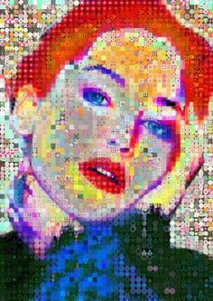 "Saatchi Art Artist John Lijo Bluefish; Collage, ""Be Yourself"" #art"
