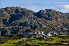 Photographic Print: Allihies and Slieve Miskish Mountains, Beara, County Cork by Chris Hill : West Coast Of Ireland, Ireland Travel, Cork Ireland, County Cork, Tours, Grand Canyon, City Photo, Dolores Park, Europe