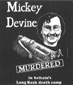 Mickey Devine: The Irish Hunger Strikers of Long Kesh Prison - H Block