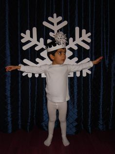 snowflake costume -