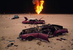 ahmadi oil fields, kuwait. War | Steve McCurry