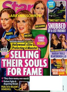 Celebrity Moms, Celebrity Weddings, Matt Lauer, May 17, Star Magazine, Free Magazines, Country Men, Cover Pics, Mariah Carey
