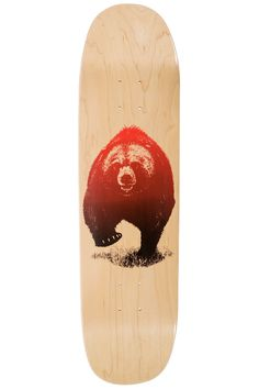 """Grizzly Skies 8.375"""" Deck (natural)"""
