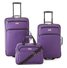 Skyway Seville 5 Pc Purple Luggage Set * Read more reviews of the product by visiting the link on the image.