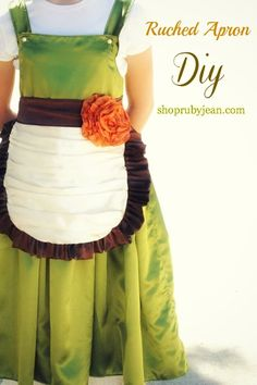 Desiree Campbell - Google+ - Super cute ruched apron tutorial by +ruby jeantoday on the…