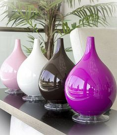 Enhance both the humidity and decor of your room with the Hybrid Ultrasonic Humidifier and Diffuser.