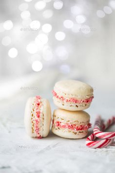Buy Christmas macarons by RuthBlack on PhotoDune. Christmas macarons with a crushed candy cane filling Cooking Games For Kids, Cooking Classes For Kids, Xmas Food, Christmas Desserts, Macarons Christmas, Christmas Cookies, Holiday Treats, Christmas Recipes, How To Cook Quinoa