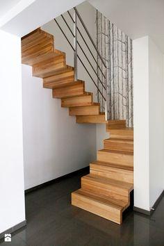 Schody styl Minimalistyczny - zdjęcie od Joanna Kłusak Architekt - Schody - Styl Minimalistyczny - Joanna Kłusak Architekt