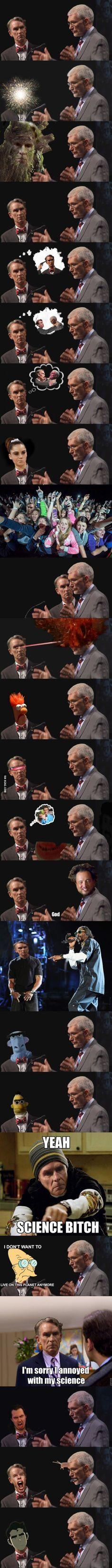 Bill Nye the many face guy.