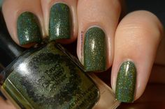 Too Fancy Lacquer Olive Branch.