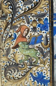 Book of Hours, MS H.7 fol. 91v - Images from Medieval and Renaissance Manuscripts - The Morgan Library & Museum