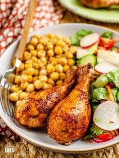 Yummy Paprika Balsamic Chicken Drumsticks | Slimming Eats