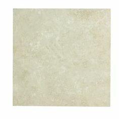 Travertine floor tiles Homebase