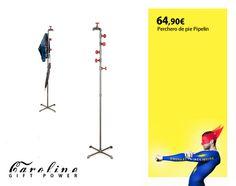 """Perchero de pie """"Pipelline"""" Disponible en Cirilo Amorós 24. VLC."""