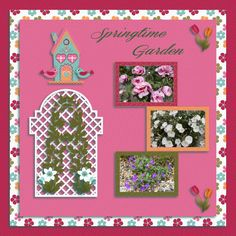 Spring Time Garden by twizzle. Kit: Spring Time by CL Graphics http://scrapbird.com/designers-c-73/a-c-c-73_514/country-livs-graphics-c-73_514_351/clgraphics-spring-time-page-kit-p-17866.html