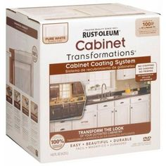 Rust-Oleum Transformations, 1 Kit Espresso Small Cabinet Transformations, 263231 at The Home Depot - Mobile New Kitchen Cabinets, Grey Cabinets, Kitchen Redo, Kitchen Design, Bathroom Cabinets, Cheap Kitchen, Cherry Cabinets, Laminate Cabinets, Laminate Furniture