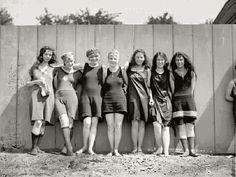anos20 17 HISTÓRIA DA MODA |  A Década de 20 e sua extraordinária história do Beachwear .