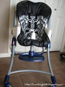 Laura Thoughts: High Chair Re-Cover