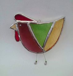 Hey, I found this really awesome Etsy listing at https://www.etsy.com/uk/listing/520681087/spring-chicken-stained-glass-suncatcher