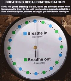 Breathing Exercises For Stress anxiety Simple Life Hacks, Useful Life Hacks, Anxiety Relief, Stress Relief, Les Joies Du Code, Anxiety Help, Overcoming Anxiety, Breath In Breath Out, Health Tips