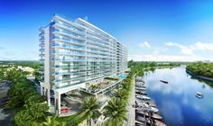 """For the first time in years, a new luxury residence is rising on the river, and it is, as Tropic Magazine headlined in its cover story """"Waterfront luxury the way it was meant to be."""" designed with exquisite contemporary Italian style, RIVA is an exception to the usual Florida condo model.Only 100 owners will share it's unique environment, overlooking the parks and the ocean beaches. For more details please contact me at + 1 -773-412-4545 or MJ@mariajnascimento.com"""