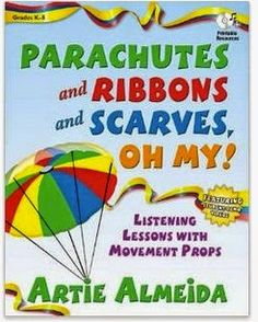 Parachutes and Ribbons and Scarves, Oh My!: Listening Lessons with Movement Props Parachutes and Ribbons and Scarves Oh My Listening Lessons with Movement Props Movement Activities, Music Activities, Therapy Activities, Time Activities, Group Activities, Music Games, Therapy Ideas, Physical Activities, Toddler Activities
