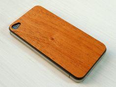 Real Mahogany Wood iPhone Skin Sticker #mahogany #iphoneskin #wood